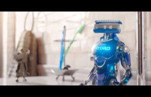 Schick presenta su nueva línea de rasuradoras robóticas.