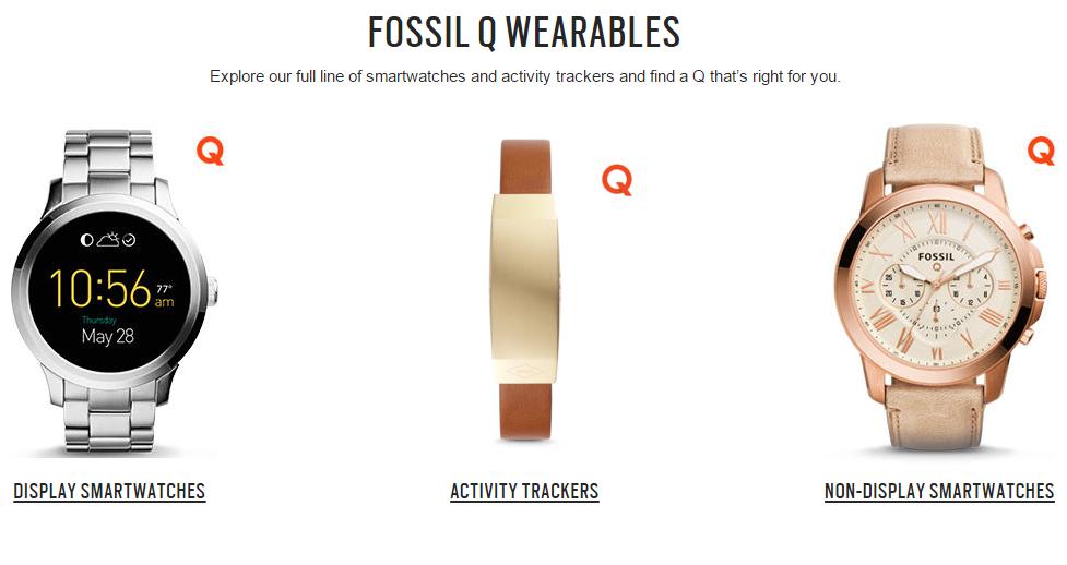 5406a98c5 Otra de las opciones que propone Fossil son los activity trackers