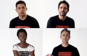 Estos artistas hablan sobre la inmigración en esta nueva campaña.