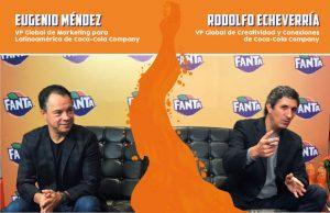 Lanzamiento Fanta - Eugenio Mendez - Rodolfo Echeverria
