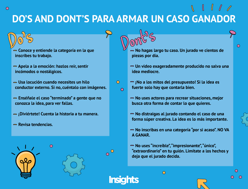 do's and don'ts caso ganador cannes lions