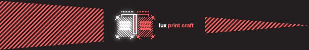 Lux Awards Shortlist 2017 - PRINT CRAFT