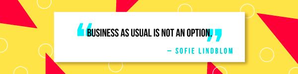 Sofie Lindblom -quote2