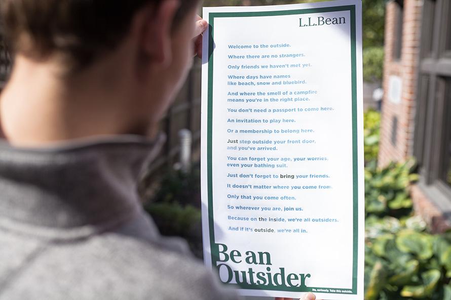 print ll bean