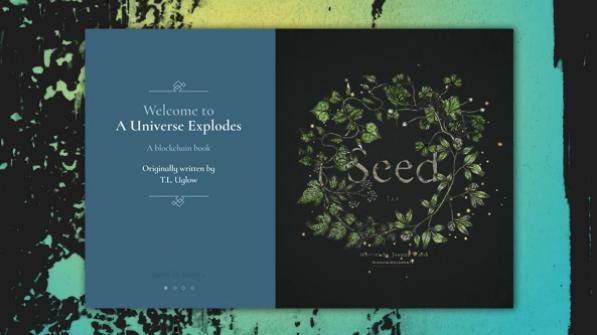A Universe Explodes - libros diseño 2018