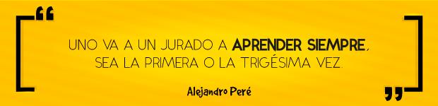 Quote 004 de Alejandro Peré: primer jurado confirmado de Lux Awards