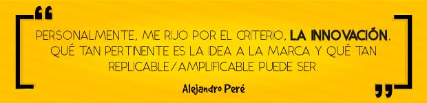 Quote 006 de Alejandro Peré: primer jurado confirmado de Lux Awards
