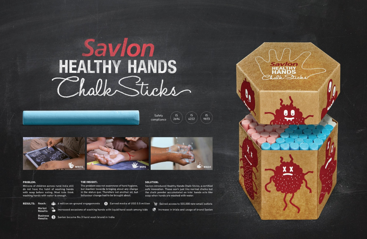 Savlon Healthy Hands Chalk Sticks Grand Prix