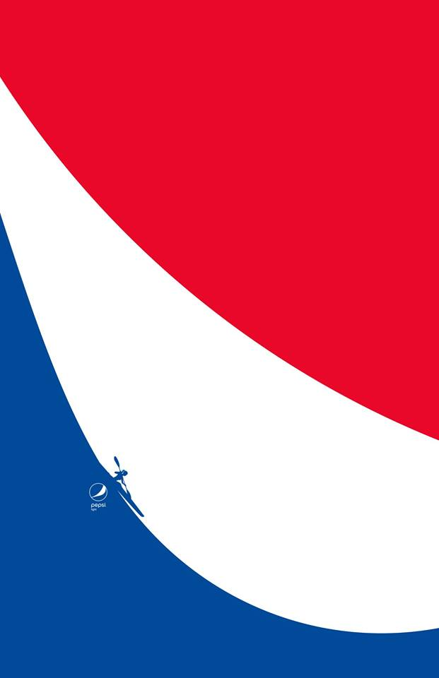 Imagen 001 Pepsi Light minimalista