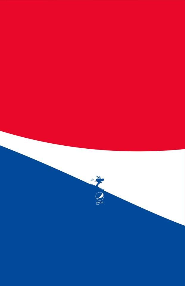 Imagen 003 Pepsi Light minimalista