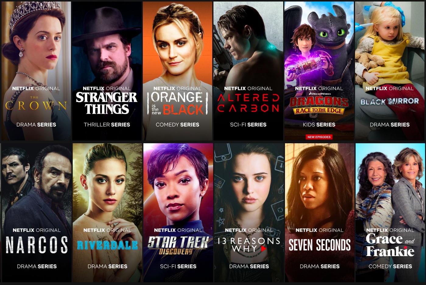 Netflix Originals User Experience