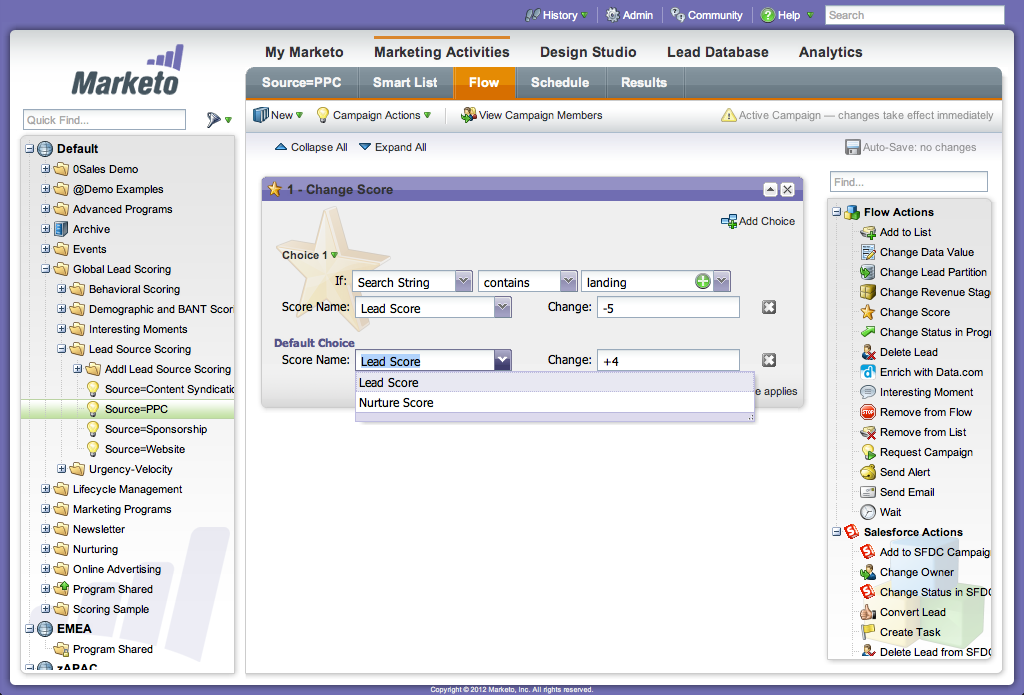 Marketo estrategia marketing
