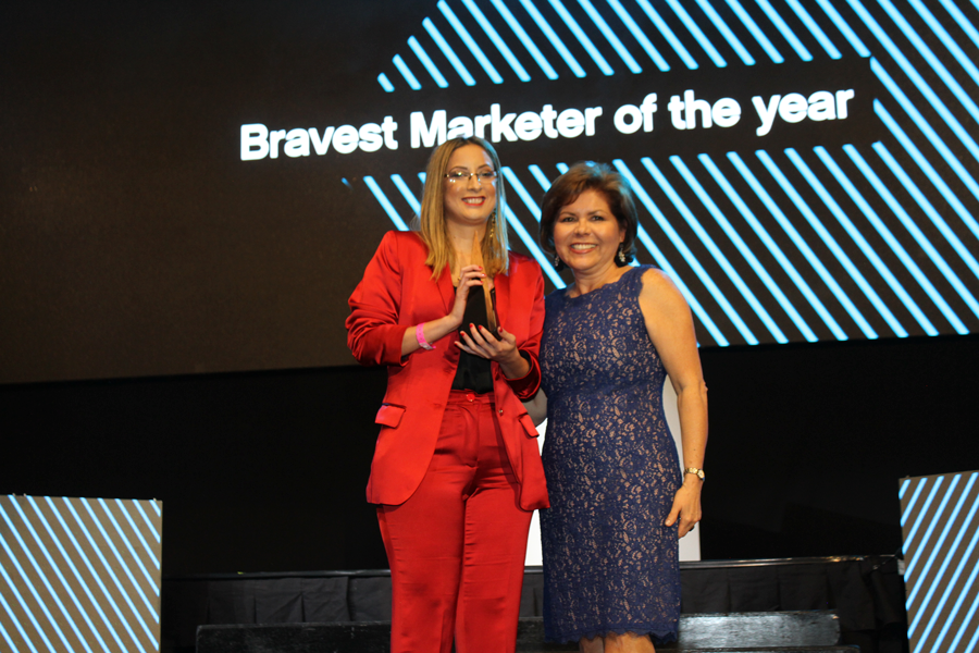 Lux Awards 2018 Bravest Marketer of the Year