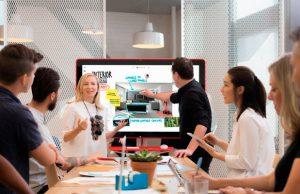 Destacada Jamboard herramienta creativa y colaborativa