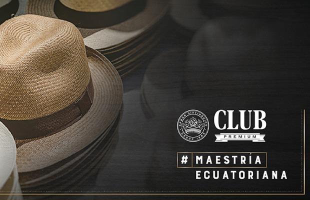 Club Premium rescata el origen del Panama Hat con una gran acción ... 98e7dc6592e