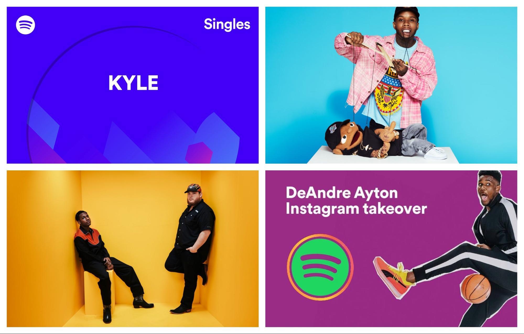 Imagen 001 Spotify tendencias diseno grafico 2019
