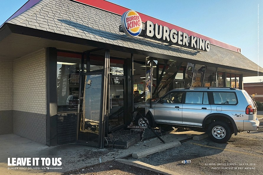 Imagen 004 Burger King servicio delivery accidentes