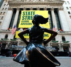 Destacada Fearless Girl Bolsa de Valores Nueva York