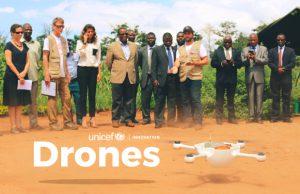 Destacada Unicef drones vacunas ninos