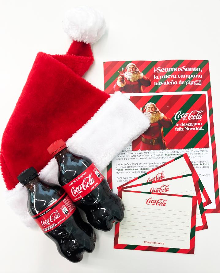 Imagen 001 Coca Cola Ecuador #SeamosSanta Navidad