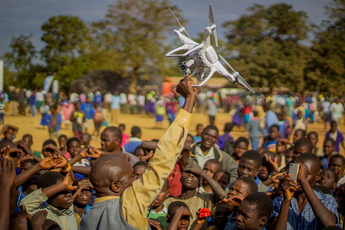 Imagen 001 Unicef drones vacunas ninos