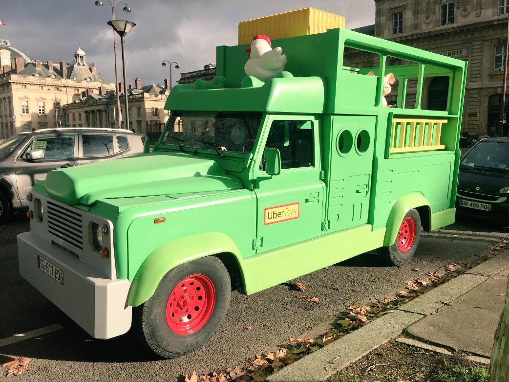 Imagen 003 Uber invita usuarios carros de juguete