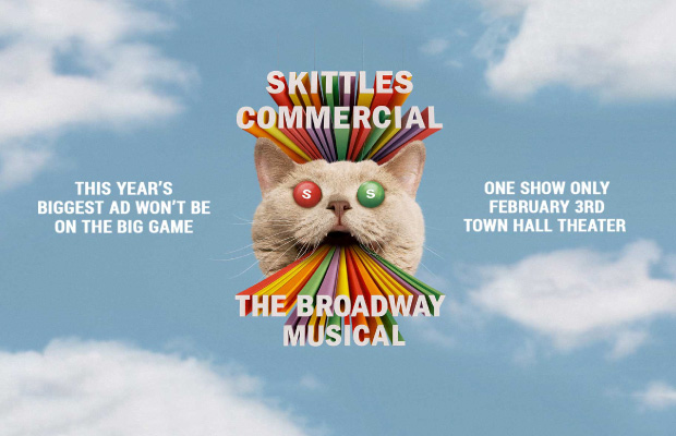 Destacado Skittles Superbowl 2019 musical Broadway