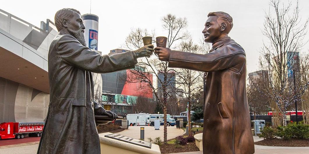 Imagen 001 tregua Super Bowl Pepsi Coca Cola paces en Atlanta